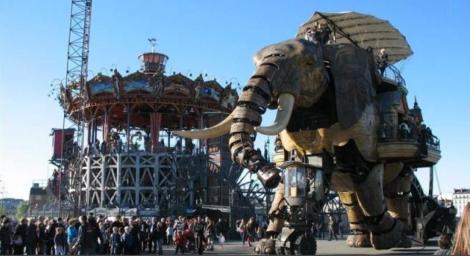 Elephant de l'île de Nantes