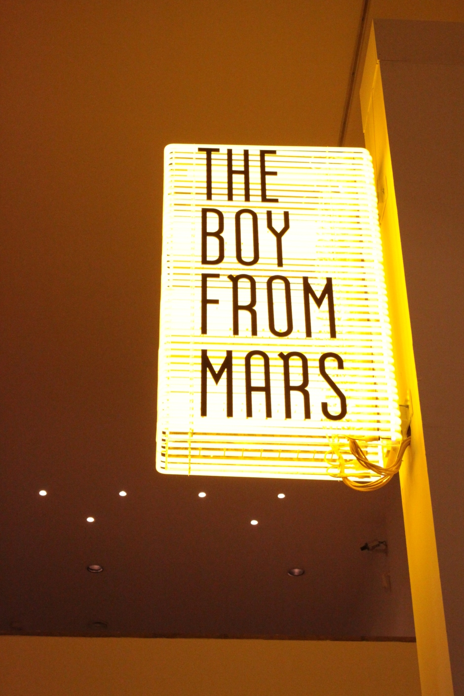 The Boy from Mars, Philippe Parreno, 2005