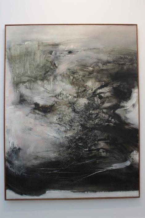 Januray 6th 1968, Zao Wou-Ki, 1968, oil on canvas