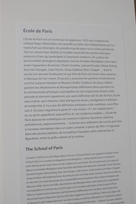 Museum of Modern art city of Paris / Musée d'art moderne de la ville de Paris
