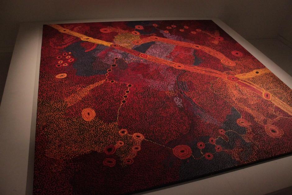 Sylvia Kanytjupai Ken, Seven Sisters, 2012, acrylic on canvas