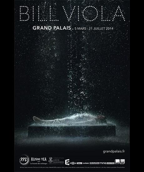 Bill Viola exhibition affiche