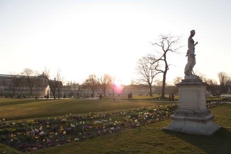 Promenade aux tuileries