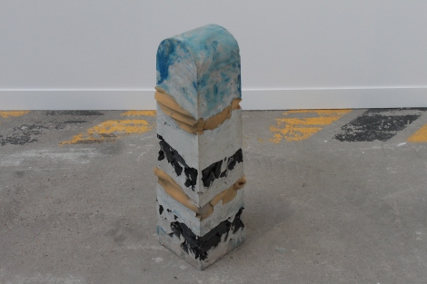 Philipp Modersohn, Punktierungskörper, 2014, Gallery : Guido W. Baudach