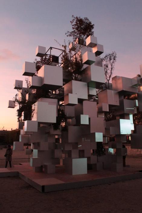 Sou Fujimoto, Many Small Cubes, 2014